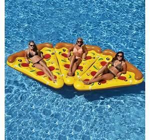 Matelas Gonflable Pour Piscine : matelas gonflable pizza insolite super insolite ~ Dailycaller-alerts.com Idées de Décoration