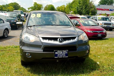 2005 acura rdx turbo gray suv sale