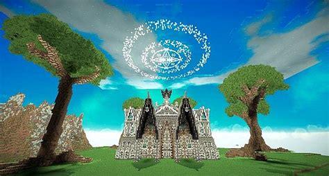 hymorin  elven manor minecraft building
