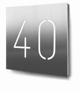 Hausnummer Beleuchtet Led : 28 best beleuchtete hausnummern in edelstahl oder aluminium images on pinterest ~ Frokenaadalensverden.com Haus und Dekorationen