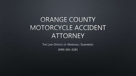 Motorcycle Attorney Orange County by Orange County Motorcycle Attorney