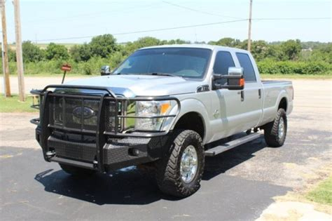 2012 Ford F350 Xlt Crew Cab Long Bed 4x4 67l Diesel Dpf