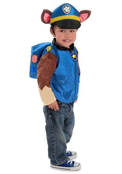Deluxe Paw Patrol Chase Costume for Boys