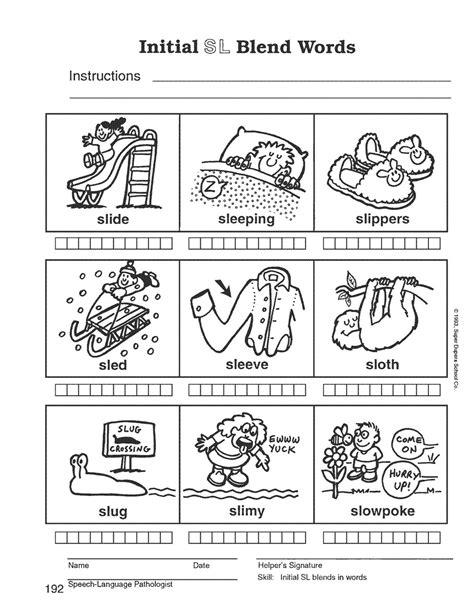 blending words for preschoolers blending words kindergarten worksheets worksheets for all 913