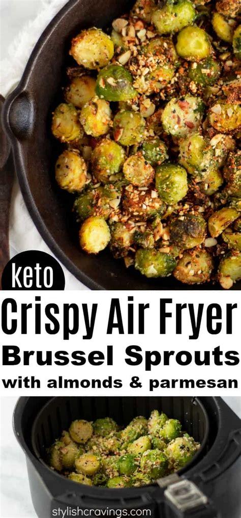 air sprouts fryer brussel parmesan crispy keto recipe along