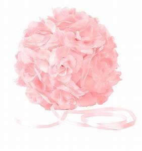 Boule De Rose : boule fleurs artificielles roses mariage pompons mariage ~ Teatrodelosmanantiales.com Idées de Décoration
