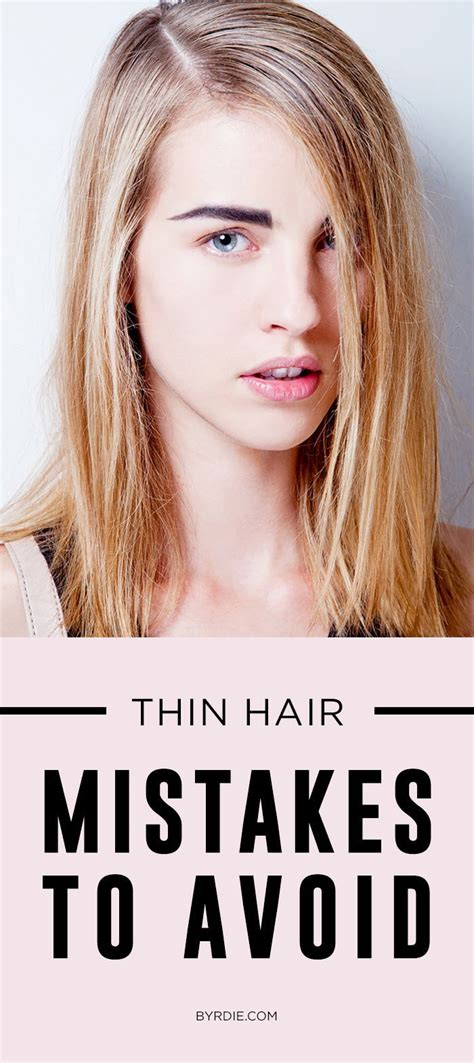 ideas  hairstyles thin hair  pinterest long