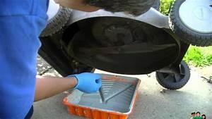 How To Oil Change Craftsman   Briggs  U0026 Stratton   Lawn
