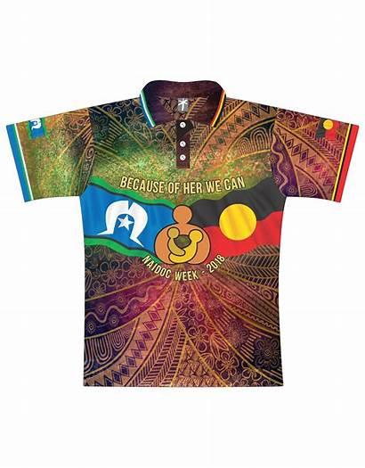 Shirt Nurturing Spirit Shirts Naidoc Tropic Fishing
