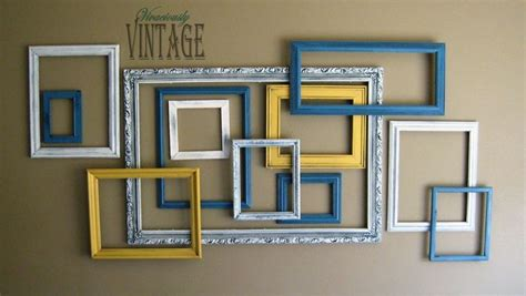 Here you can find all handmade crafts,creative ideas and best out of waste items. 3D Layered Picture Frame Art in 2020 | Picture frame art, Gallery wall frames, Frame wall decor