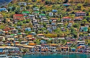 St Georges Harbor Grenada Photograph by Don Schwartz