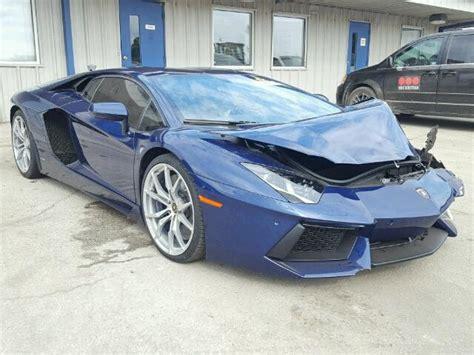 crashed lamborghini for sale lamborghini salvage cars for sale online lamborghini