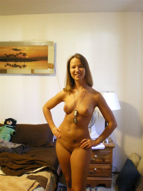 Dog Tags And Nipple Rings Amateur