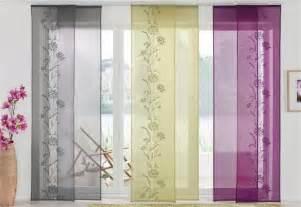 wohnzimmer gardinen set 2 st schiebegardine 57 x 145 grün uni schiebevorhang flächenvorhang neu ebay