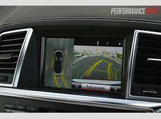 2013 MercedesBenz GL 63 AMG parking camera with birds eye