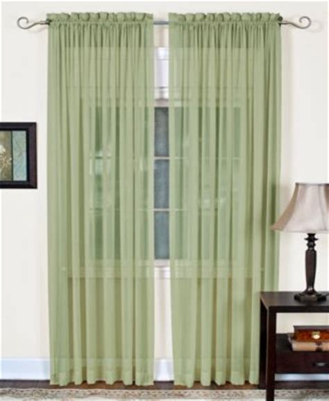 Macys Curtains And Window Treatments by Miller Curtains Sheer Grommet Window Treatment