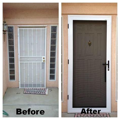 guarda security screen door
