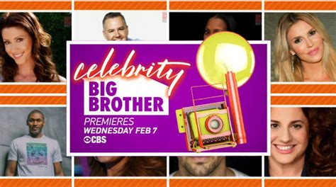 celebrity big brother cast revealed meet the houseguests