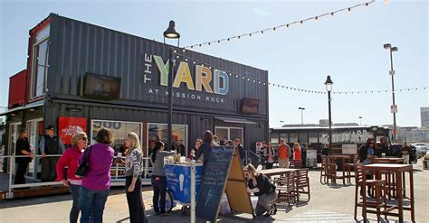 The Yard by The Giants Repurpose Shipping Containers Into The Yard