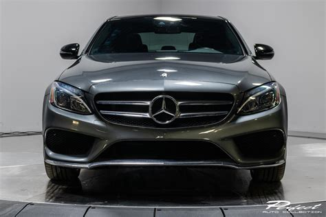 We are especially enamored with. Used 2017 Mercedes-Benz C-Class C 300 4MATIC For Sale ($23,993) | Perfect Auto Collection Stock ...