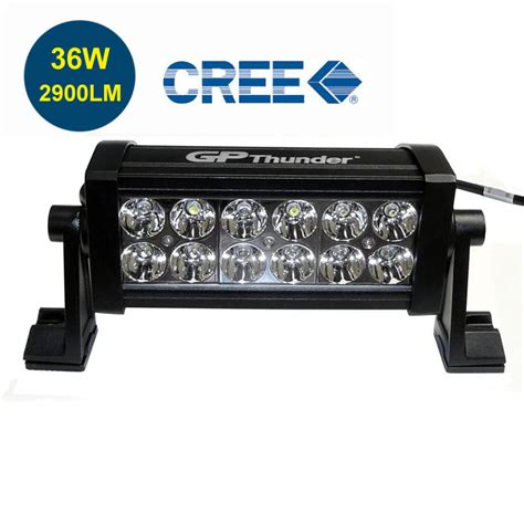 7 inch road 36w cree led fog l work light bar suv