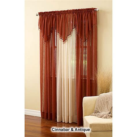 erica crushed voile curtains erica crushed voile window collection boscov s