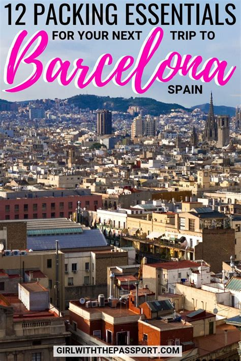 Planning some Barcelona Spain Travel? Then I have the ...