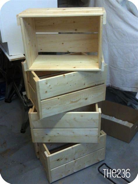 build wood crates plans diy teds