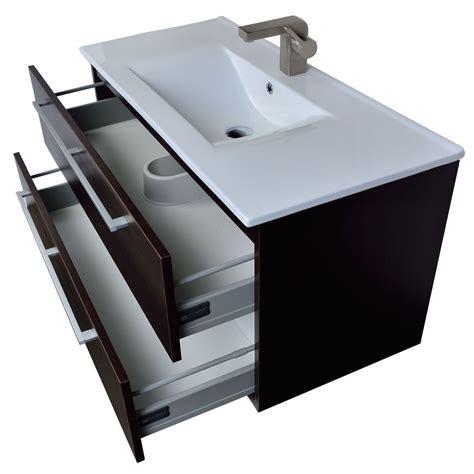 Buy Bathroom Vanity by Buy Caen 40 Quot Wall Mount Modern Bathroom Vanity Set