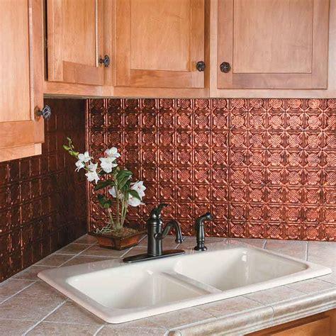 Copper Tiles For Backsplash by Kitchen Dining Metal Frenzy In Kitchen Copper