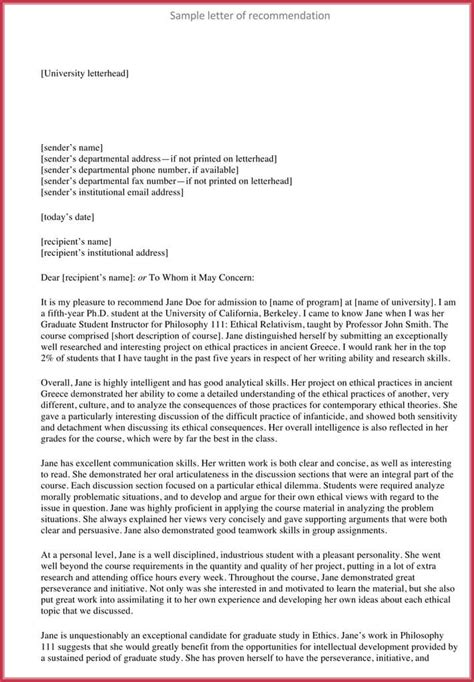 Formal Reference Letter (8+ Sample Letters, Examples And Formats