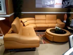 sofa big orange modern sectional sofa b68 leather sectionals