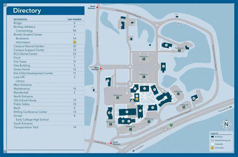 Davidson College Campus Map