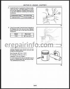 New Holland Tc30 Repair Manual  U2013 Erepairinfo Com