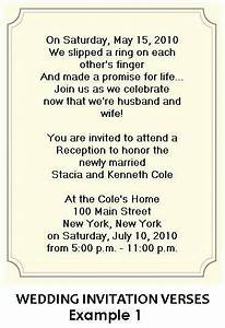 wording for wedding reception invitations courthouse With wedding invitation etiquette lawyer