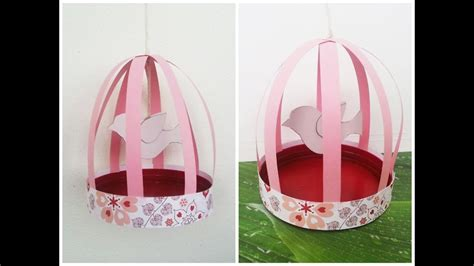 gabbie per uccellini tutorial gabbietta per uccelli decorativa riciclando