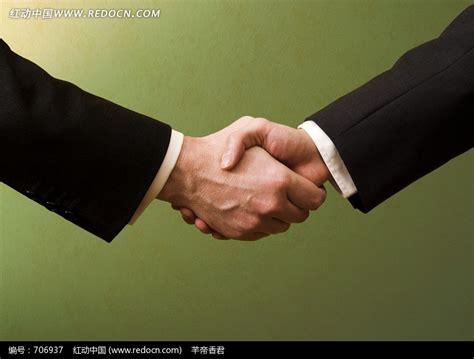 表示合作愉快手势图片免费下载 红动网