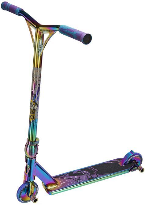 rainbow neo chrome stunt scooter team dogz pro   gen