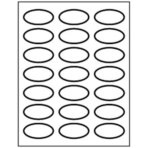 templates oval labels   sheet avery