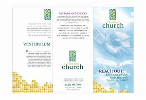 christian church 1 print template pack from serifcom With church brochures templates