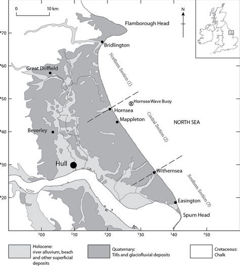 Geological Composition Of The Holderness Coast Main And