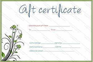gift certificate template fotolipcom rich image and With salon gift certificate template free download