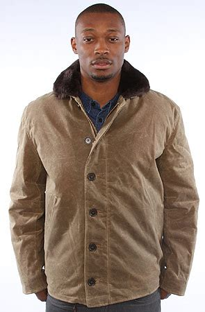 N1 Deck Jacket History by Spiewak The Waxed N1 Deck Jacket In Field Karmaloop