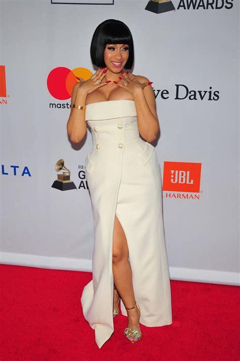 Cardi B – Clive Davis and Recording Academy Pre-Grammy ...