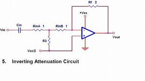 Inverting Attenuation Circuit Output Equation With