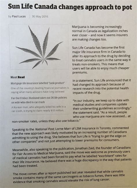 sun life canada  approach  pot diamondhead