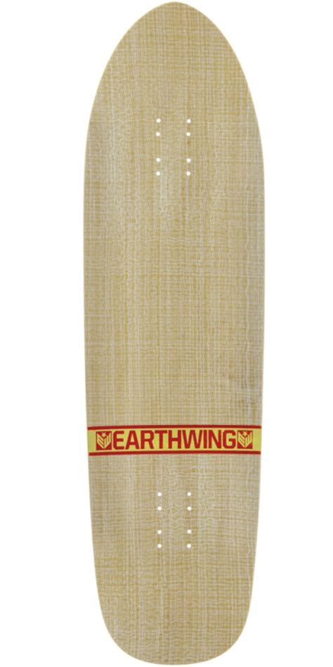 Earthwing Decks by Earthwing Thruster 36 Quot Longboard Skateboard Deck Yellow