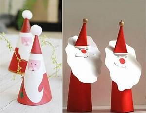 Weihnachtsmann Basteln Aus Pappe : nikolaus basteln papier dansenfeesten ~ Haus.voiturepedia.club Haus und Dekorationen