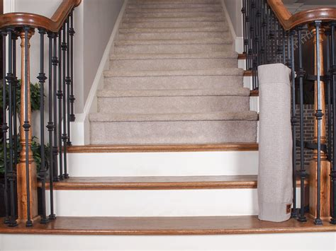 banister safety gate the stair barrier quot banister to banister quot baby safety gate