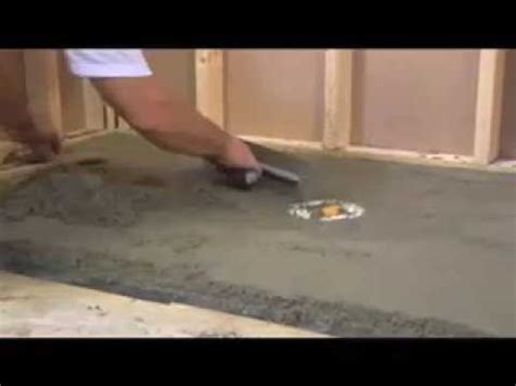 Tiling A Bathroom Floor Youtube by How To Tile A Shower Floor Tile Installation Amp Prep 1